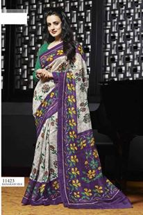 Picture of Art silk saree-11423
