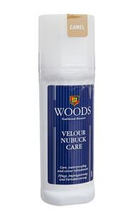 Picture of Woods Velour Nubuk Care Liquid Polish - Camel