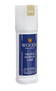 Picture of Woods Velour Nubuk Care Liquid Polish - Khaki