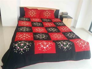 Picture of Applique Bed Cover-code:BS-21