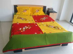 Picture of Applique Bed Cover-code BS-91