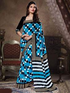 Picture of Art silk Saree-17001