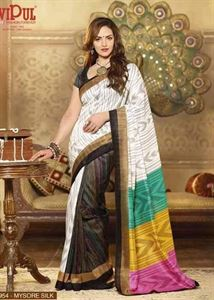 Picture of Art silk Saree-17003