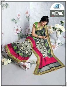 Picture of Art silk Saree17005