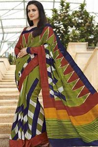 Picture of Art silk Saree-17006