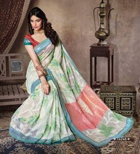 Picture of Art silk Saree-14246