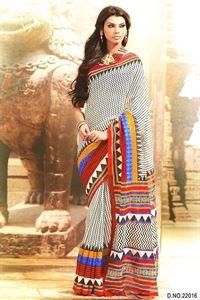 Picture of Art silk Saree-17007