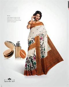 Picture of Art silk Saree-8519