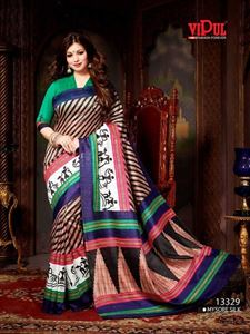 Picture of Art silk Saree-13329