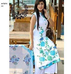 Picture of Block Printed Salwar Kamiz - 008