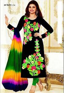 Picture of Block Printed Salwar Kamiz - 004