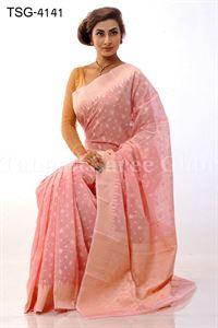 Picture of Jamdani Cotton Saree - TSG-4141