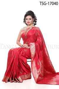 Picture of Buty Katan Saree - TSG - 17040