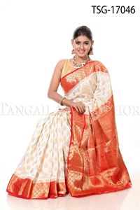 Picture of Buty Katan Saree - TSG - 17046