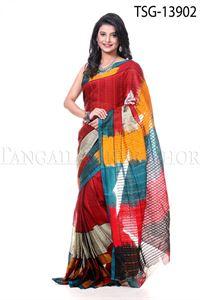 Picture of Gas Silk Saree - TSG - 13902