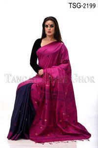 Picture of Gas Silk Saree - TSG - 2199