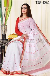 Picture of Masslice Cotton Saree - TSG-4262
