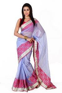 Picture of Half Silk Saree - MJS-111