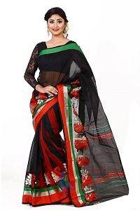 Picture of Half Silk Saree - MJS-201