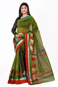 Picture of Half Silk Saree - MJS-202