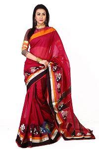 Picture of Half Silk Saree - MJS-204