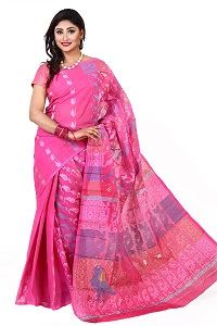 Picture of Cotton Jamdani Saree - MJS-503