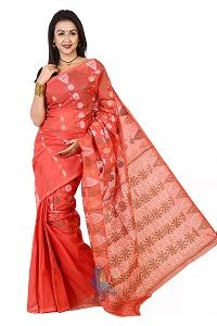 Picture of Cotton Jamdani Saree - MJS-504