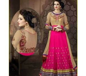 Picture of Indian Designer Salwar Kameez (Replica) 04