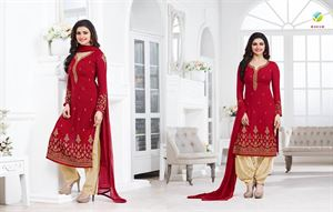 Picture of Exclusive Indian Designer Salwar Kameez (Replica) 03