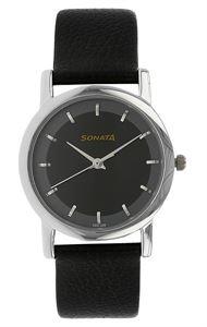 Picture of Sonata Men's Watch - 7987SL02