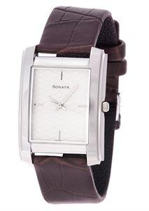 Picture of Sonata Men's Watch - 7953SL01