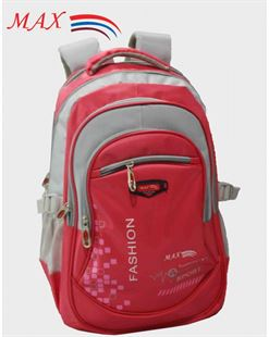 Picture of Max School Bag M-1625 - Red