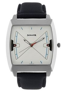 Picture of Sonata Men's Watch - 77064SL02