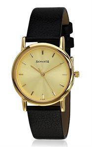 Picture of Sonata Men's Watch - 7987YL01
