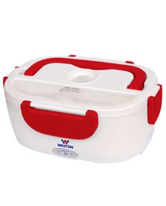 Picture of WALTON Electric Lunch Box WELB-RB02 - Red/White