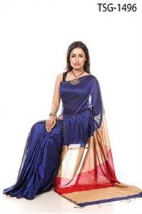 Picture of Silk &Cotton Mixed Saree - TSG-1496