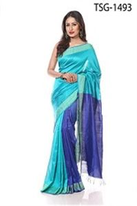 Picture of Silk &Cotton Mixed Saree - TSG-1493
