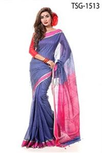 Picture of Silk & Cotton Mixed Saree - TSG-1513