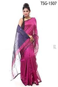Picture of Silk & Cotton Mixed Saree - TSG-1507