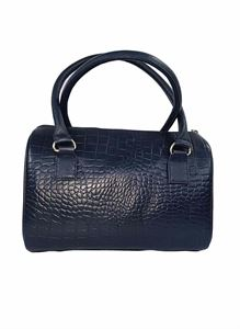 Picture of Women's Leather Handbag-LHB-101-Navy