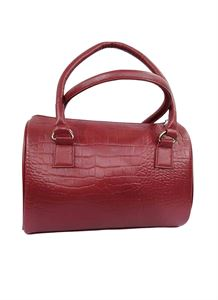 Picture of Women's Leather Handbag-LHB-101-Maroon