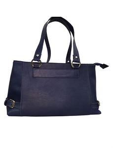Picture of Women's Leather Handbag-LHB-302-Navy Blue
