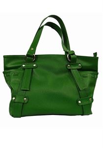 Picture of Women's Leather Handbag-LHB-113-Green