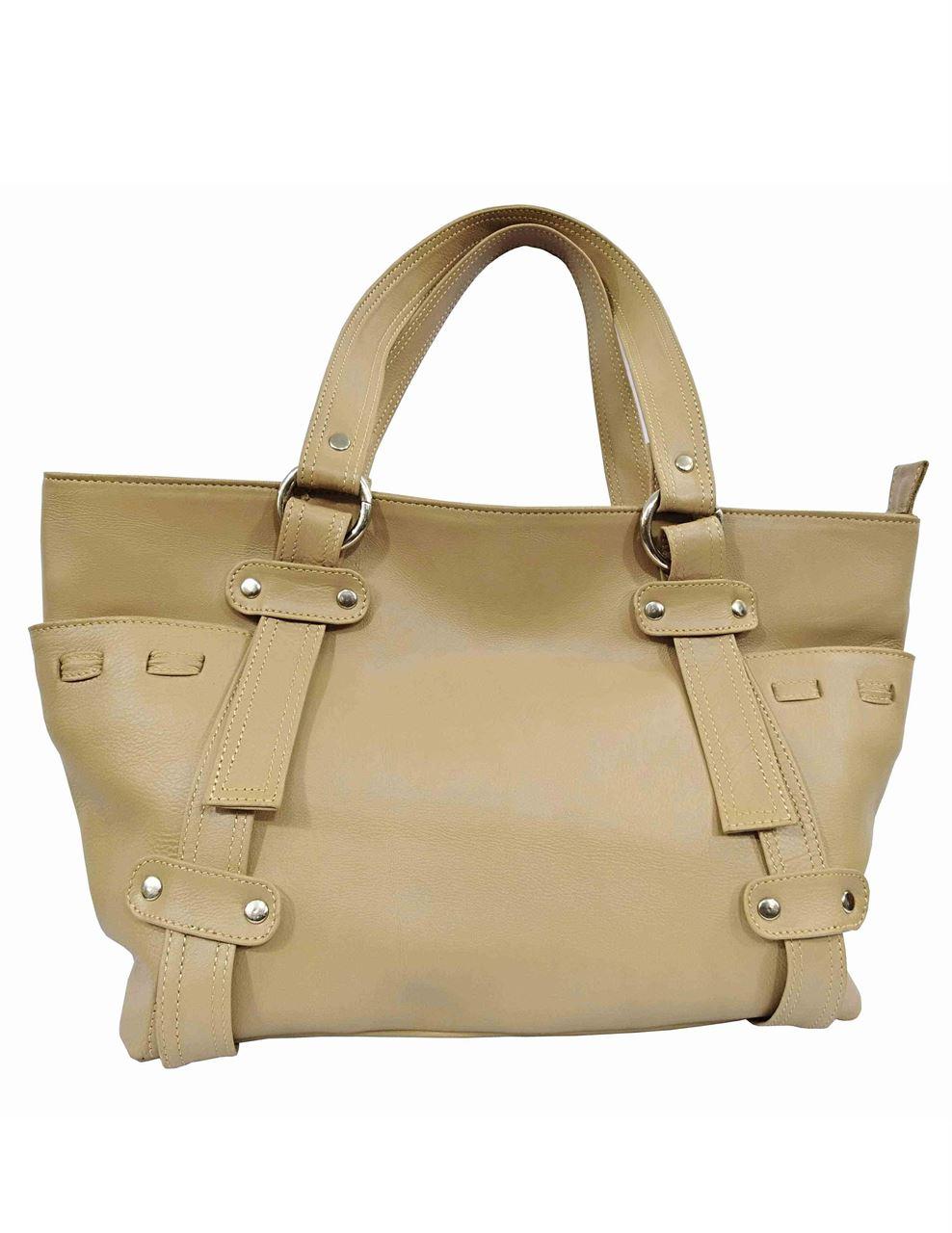 1769fc0012d Online Shopping Bangladesh  Women s Leather Handbag-LHB-113-Biscuit