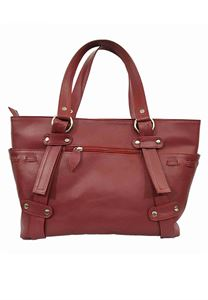 Picture of Women's Leather Handbag-LHB-113-Maroon