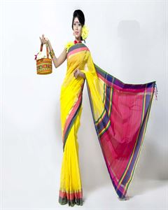Picture of cotton saree - TSG-5225