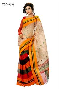 Picture of Cotton Saree - TSG-6359