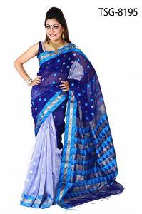 Picture of Gas Silk Saree - TSG-8195