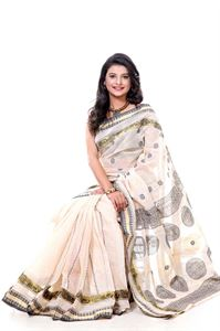 Picture of Cotton Saree - TSG-13903