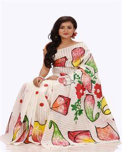 Picture of Half Silk Saree - TSG-1017